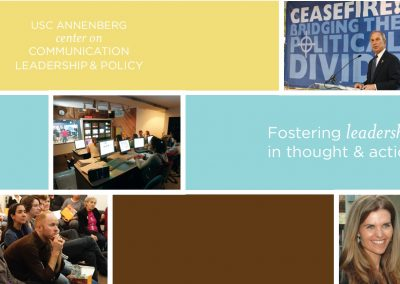 Center on Communication Leadership & Policy