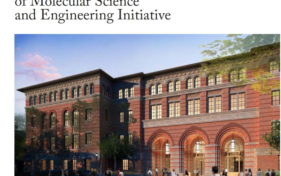 USC Convergence of Molecular Science and Engineering Initiative
