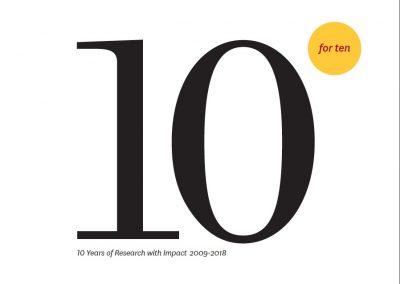 USC Schaeffer Center 10th Anniversary Report