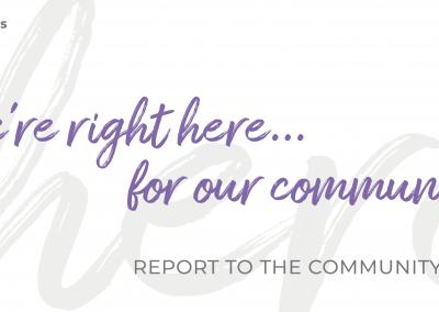Cedars-Sinai Report to the Community 2021