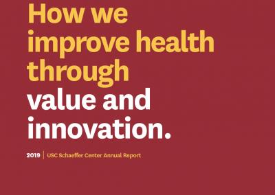 Schaeffer Center Annual Report 2019